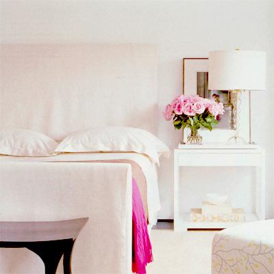 Habitaciones en blanco luz y flores para un dia lluvioso - Habitaciones en blanco ...