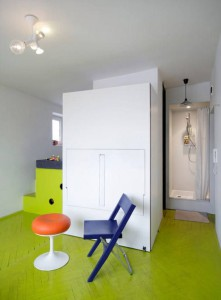 apart04 Tamka Apartment, a Cheerful and Playful Living Space