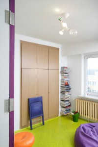 apart10 Tamka Apartment, a Cheerful and Playful Living Space