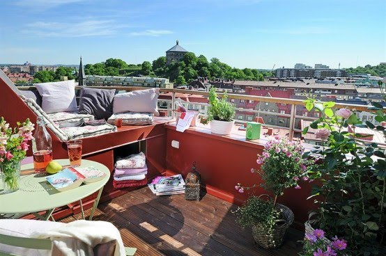 10 metros cuadrados de terraza gloriosos decoratualma for Ideas para terrazas baratas