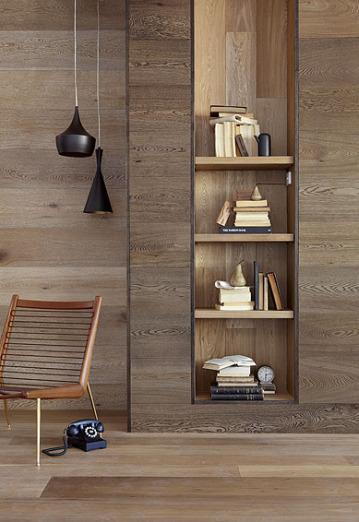 Madera en las paredes decoratualma for Paredes en madera