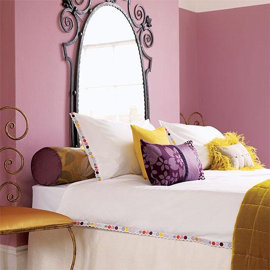 maneras de decorar el cabecero de la cama