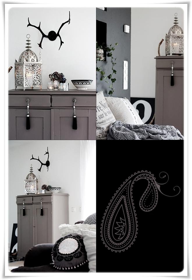 La evoluci n de una casa decoratualma for Muebles pintados en gris
