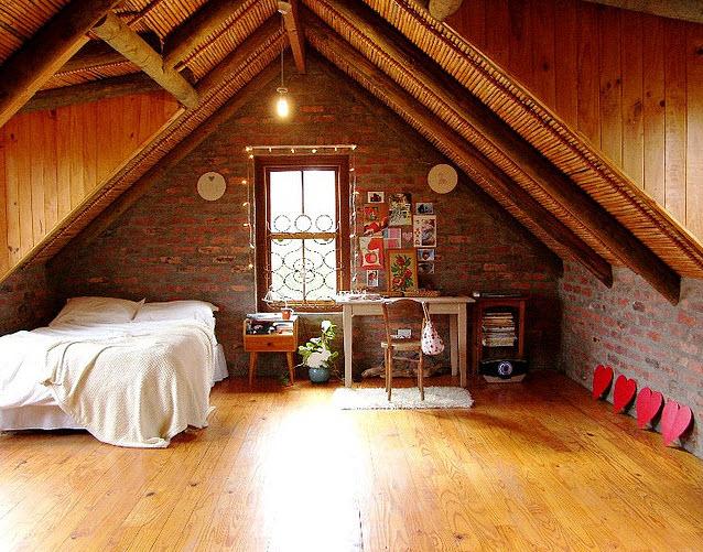 Buhardillas dormir por todo lo alto decoratualma - Buhardillas de madera ...