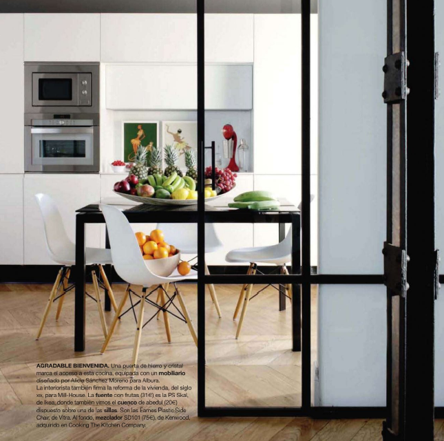 Revista interiores junio 2011 decoratualma for Puertas de madera y hierro antiguas