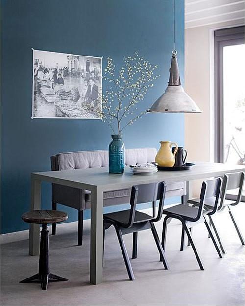 5 comedores de estilo industrial con sillas de escuela   decoratualma