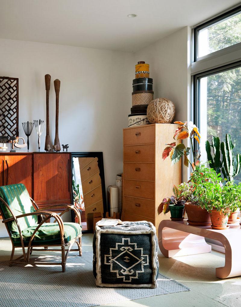 Una casa prefabricada en catskills decoratualma - Como hacer una casa prefabricada ...