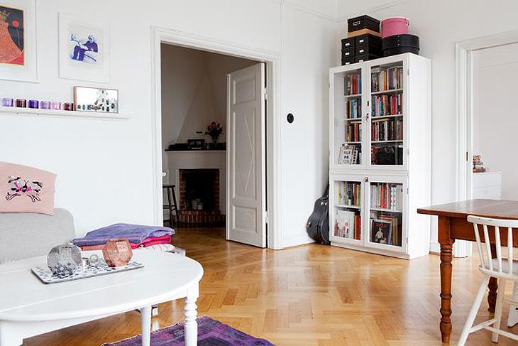 Con estilo escandinavo decoratualma for Estanterias estilo escandinavo