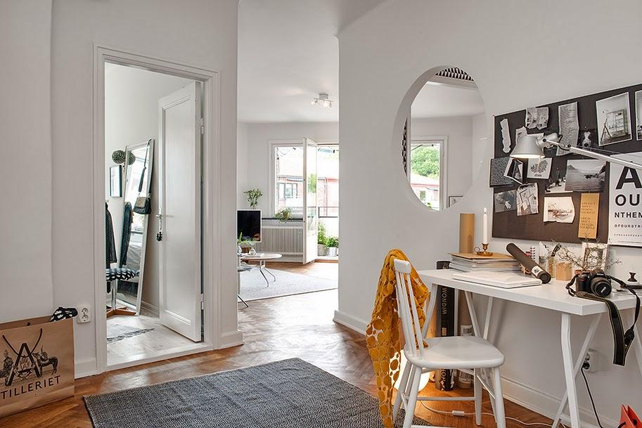 la ventana redonda decoratualma. Black Bedroom Furniture Sets. Home Design Ideas