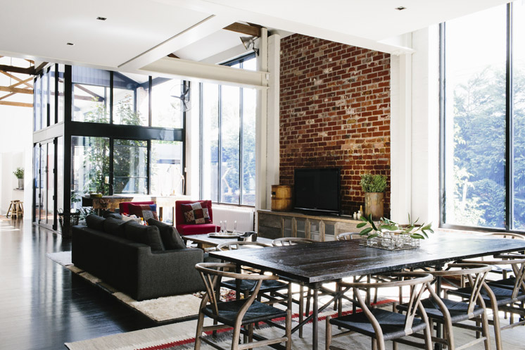 Loft de estilo industrial decoratualma - Decoracion estilo loft ...