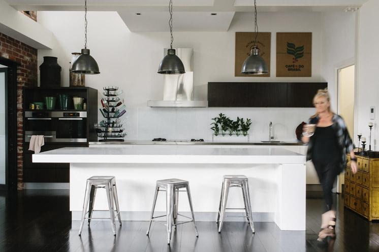 Loft de estilo industrial decoratualma for Cocina industrial tipo loft