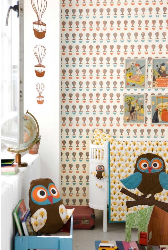 Papel pintado para tu casa decoratualma for Casas de papel pintado