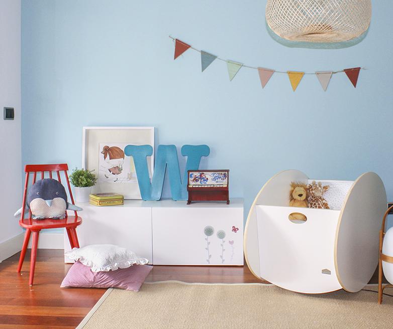 Un rinc n para los reci n nacidos bonito decoratualma for Decorar habitacion bebe nino