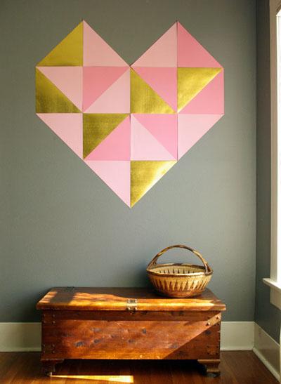 Decorar las paredes con papel