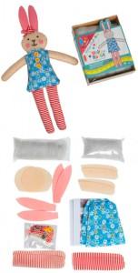 Set de manualidades para niños conejito - Decoratualma DTA