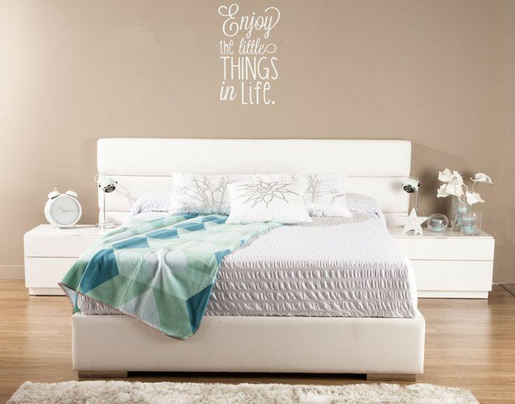 Mesitas de noche y cabeceros de cama decoratualma - Cabecero y mesillas ...