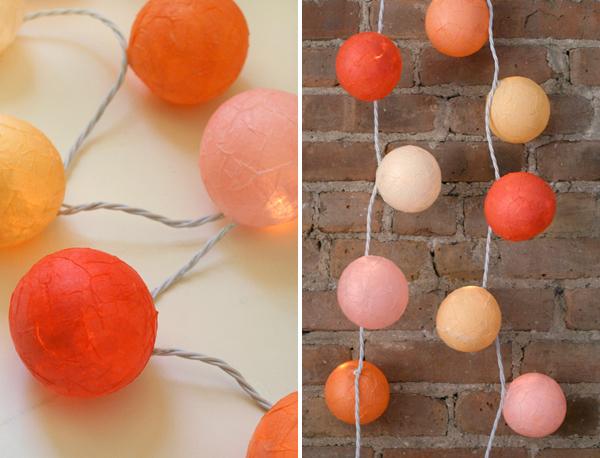 Diy reutiliza las luces de navidad decoratualma for Guirnalda de luces bolas