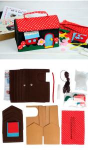 Set de manualidades costura Casita - Decoratualma DTA
