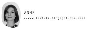 El blog de F de fifi - Anne DTA