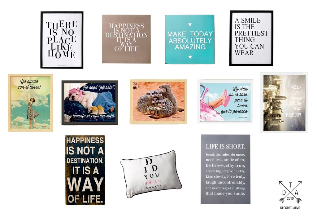 Decora con mensajes positivos decoratualma - Fotos con frases originales ...