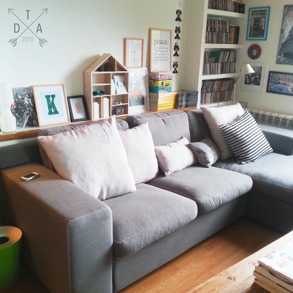 Tardes de verano cojines fresquitos decoratualma - Sofa de cojines ...