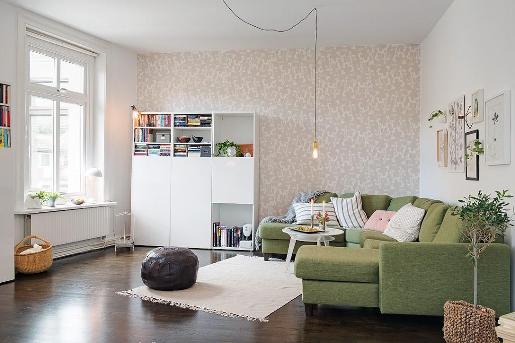 Un peque o piso con alma n rdica decoratualma - Dekzeil terras balkon ...