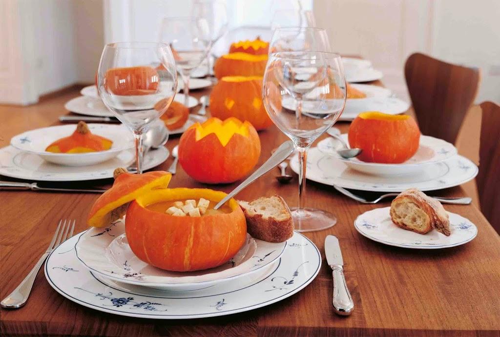 Platos con calabazas este Halloween de Villeroy & Boch