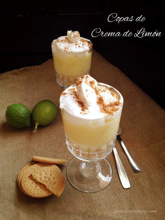 Receta de Crema de limón fácil