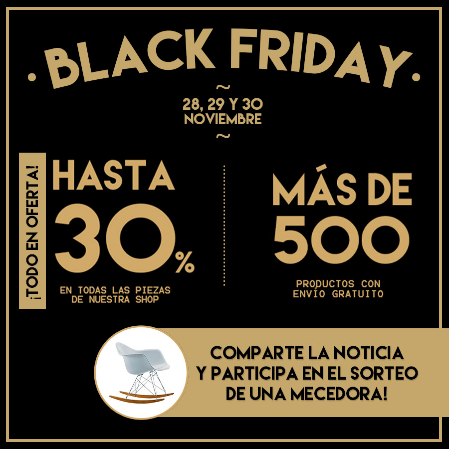 BLACK FRIDAY SORTEO