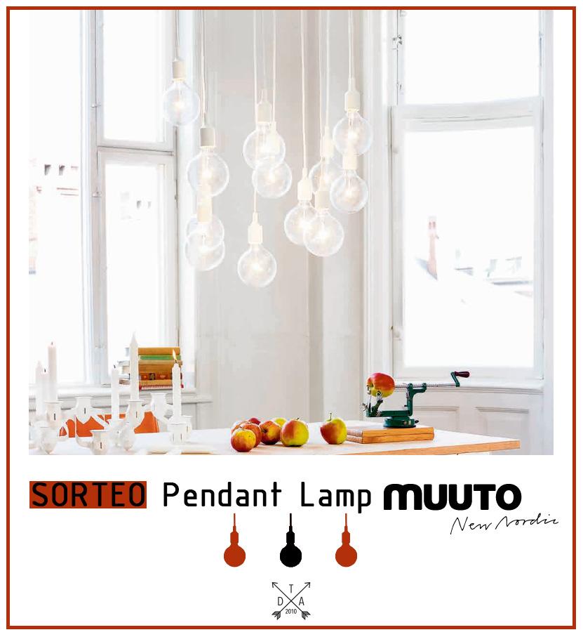 Sorteo: Pendant lamp de Muuto