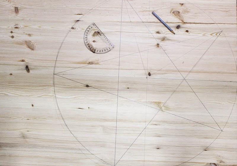 DIY Estrella de Luces: dibuja la estrella