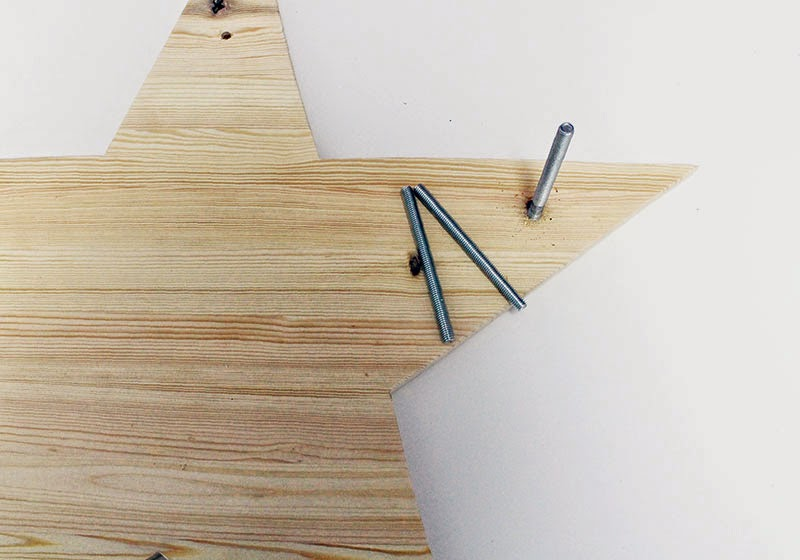 DIY Estrella de Luces: practica 5 agujeros