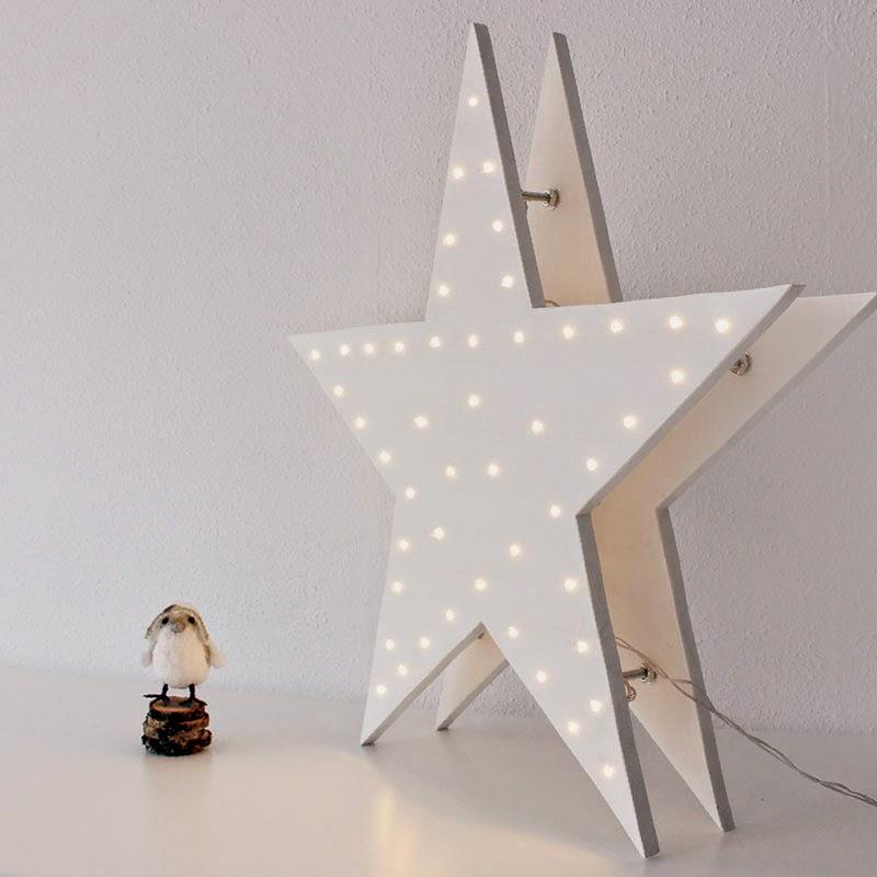 DIY Estrella de Luces