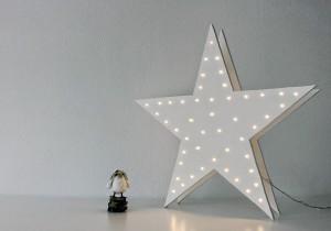 DIY: estrella de luces