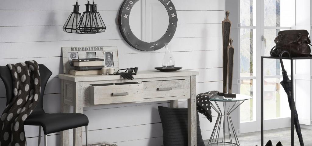 Colección Grey Decoratualma Comedor DTA provenzal nordico rustico campo chic