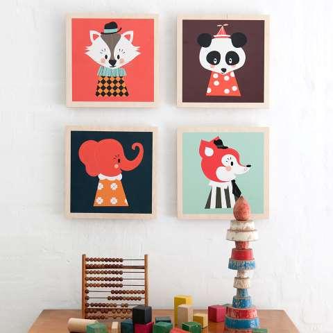 cuadros,animales,animalitos,cuadro,decoración,deco,niño,niña,niños,niñas,habitación,dormitorio,ferm LIVING