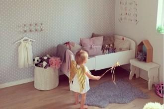 Decoración infantil para el dormitorio de los peques, niños, desarrollar su creatividad