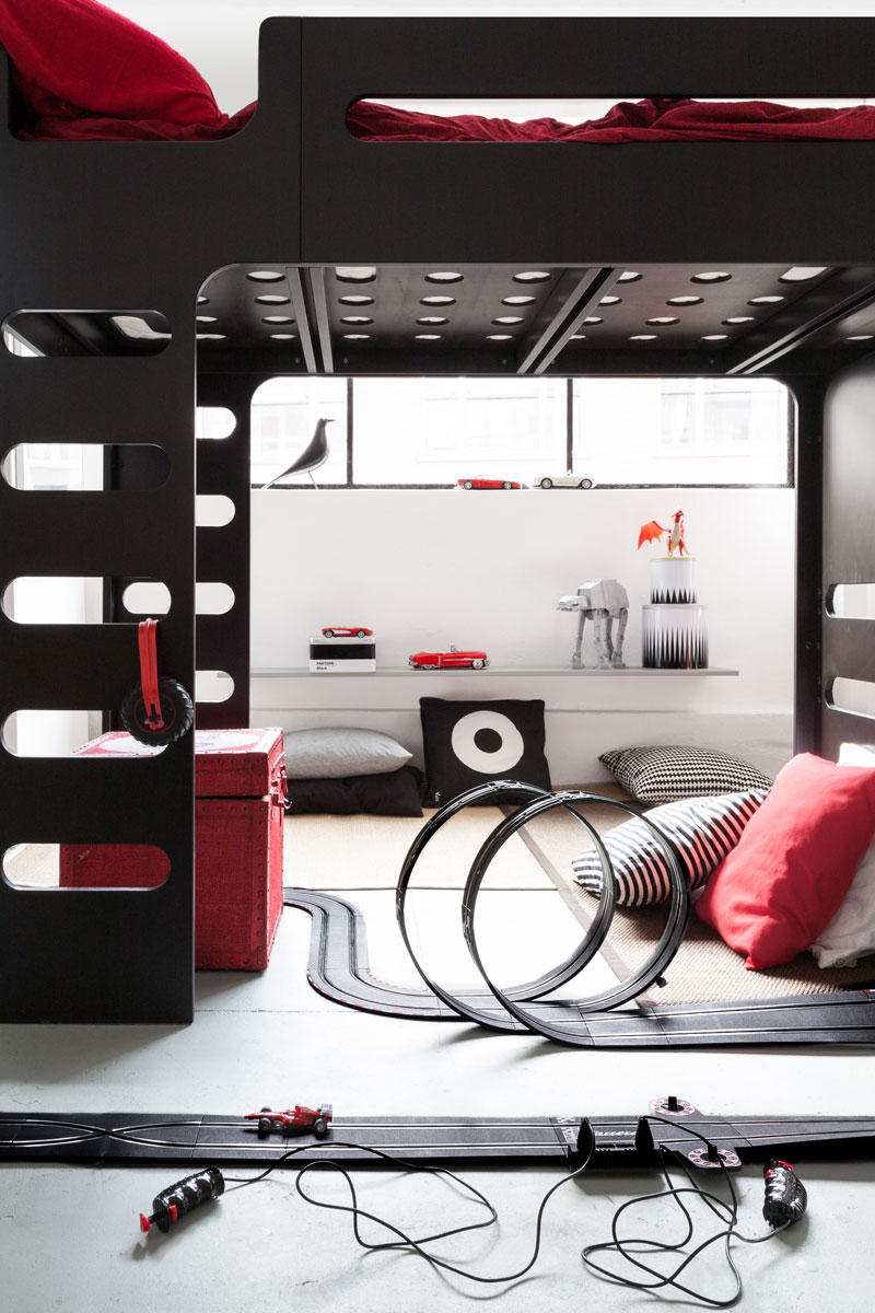 Litera de diseño Rafa-Kids, mobiliario infantil decoratualma DTA