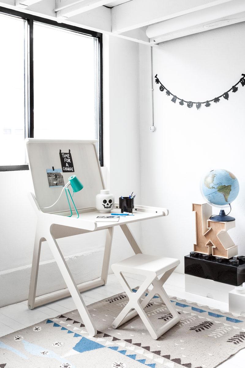 Escritorio K y litera de diseño Rafa-Kids en decoratualma DTA tienda online comprar