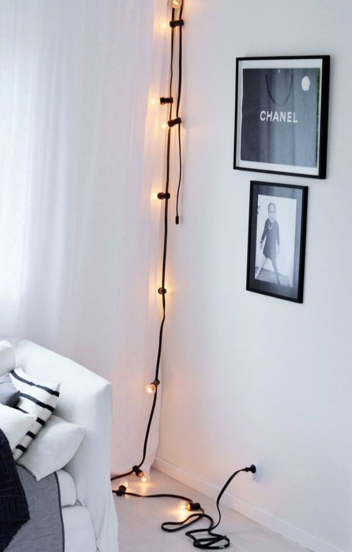 Decorar con luces