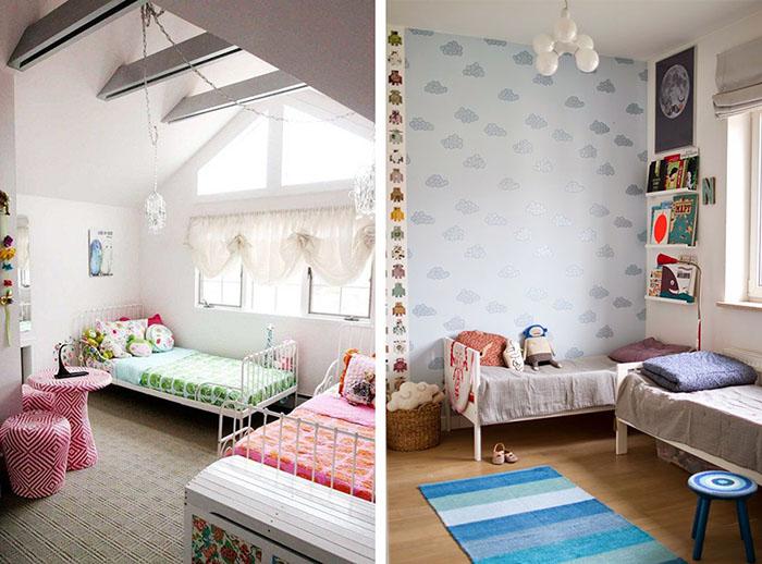 Dormitorios infantiles compartidos decoratualma - Dormitorios infantiles para dos ...