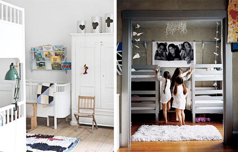 Dormitorios infantiles compartidos   decoratualma