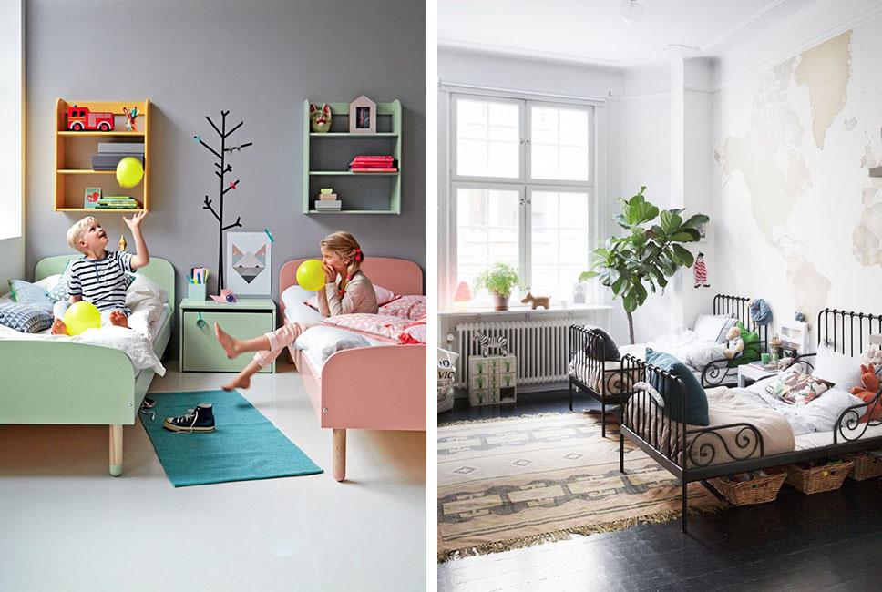 Dormitorios infantiles compartidos decoratualma - Ideas para pintar habitaciones infantiles ...