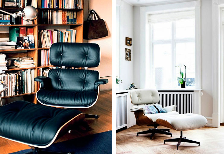 lounge chair eames sillon reposapies ottoman descuento oferta decoratualma dta
