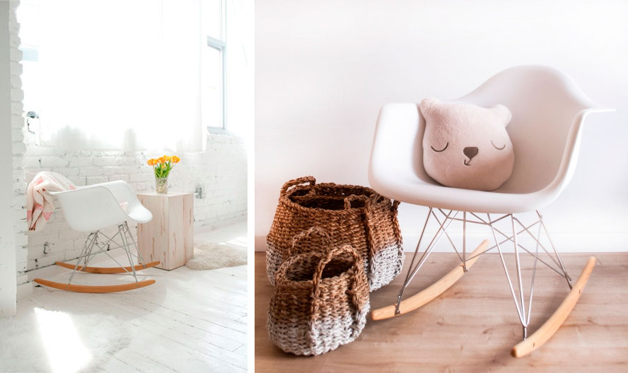 RAR mecedora balancin rocking chair eames replica decoratualma descuento precio oferta dia del padre