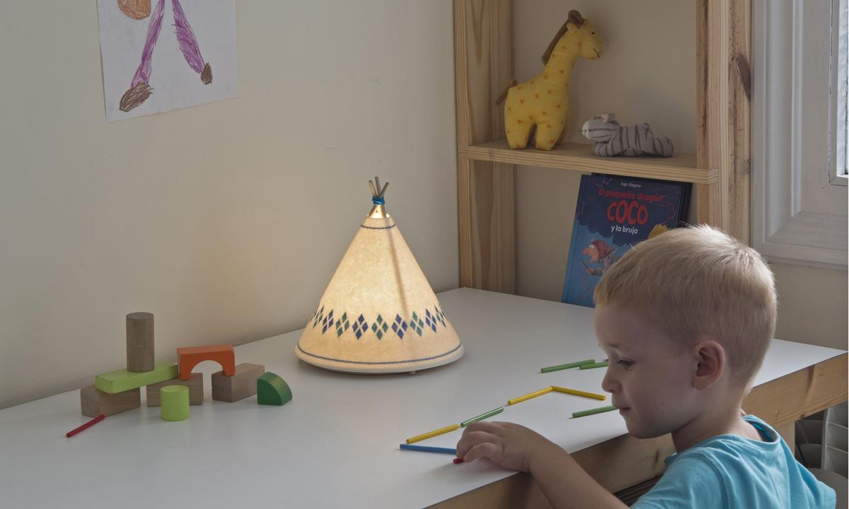 Buokids Decoratualma - Lámpara Tipi