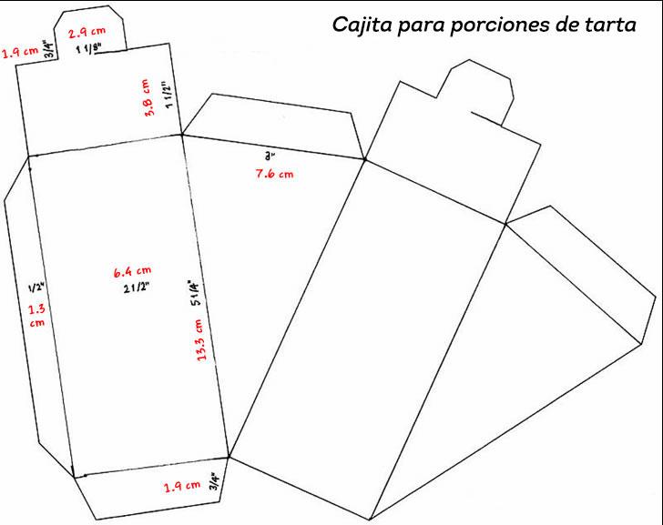 Dorable Plantilla De Rebanada De Pastel Cresta - Colección De ...