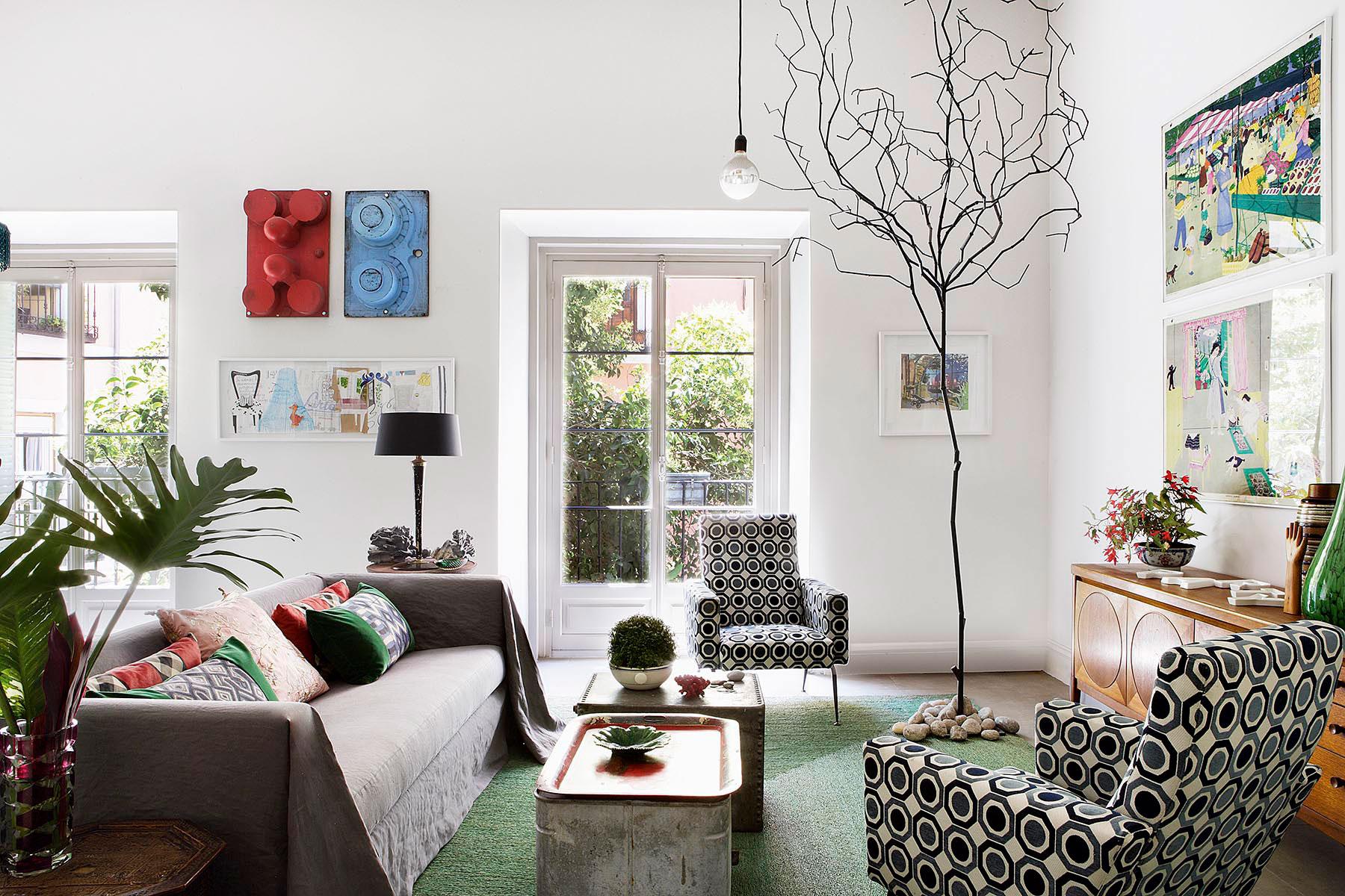 La casa de pepe leal decoratualma - Decoradores en madrid ...