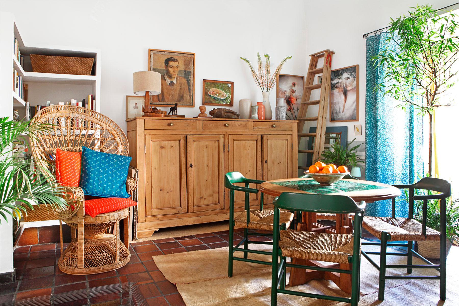 Casa de pueblo en madrid decoratualma for Casas rusticas interiores decoracion