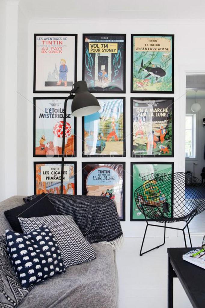 posters-de-tintin-elisa-beltran-para-decoratualma